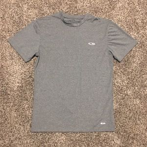 Champion men's Large T Shirt Gray Duo Dry